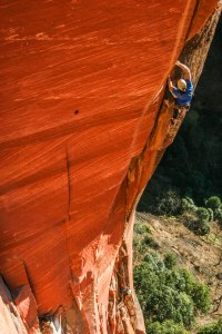 Mike Dobie onThe Iron Tusk 5.13- Photo: Edward Geott