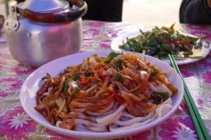 BanMian, the staple food in Xinjiang
