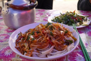 BanMian, the staple food in Xinjiang