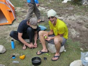 Base camp fun
