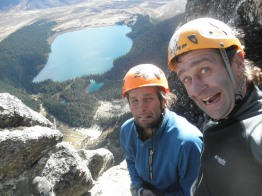 Andrew Hedesh and I at the top