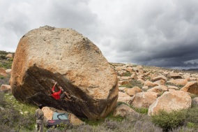 Open Project in Haizishan V12??? Photo: Chris Miller
