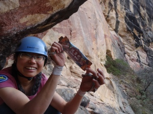 Xiao Shuang, Li Ming's first female climber
